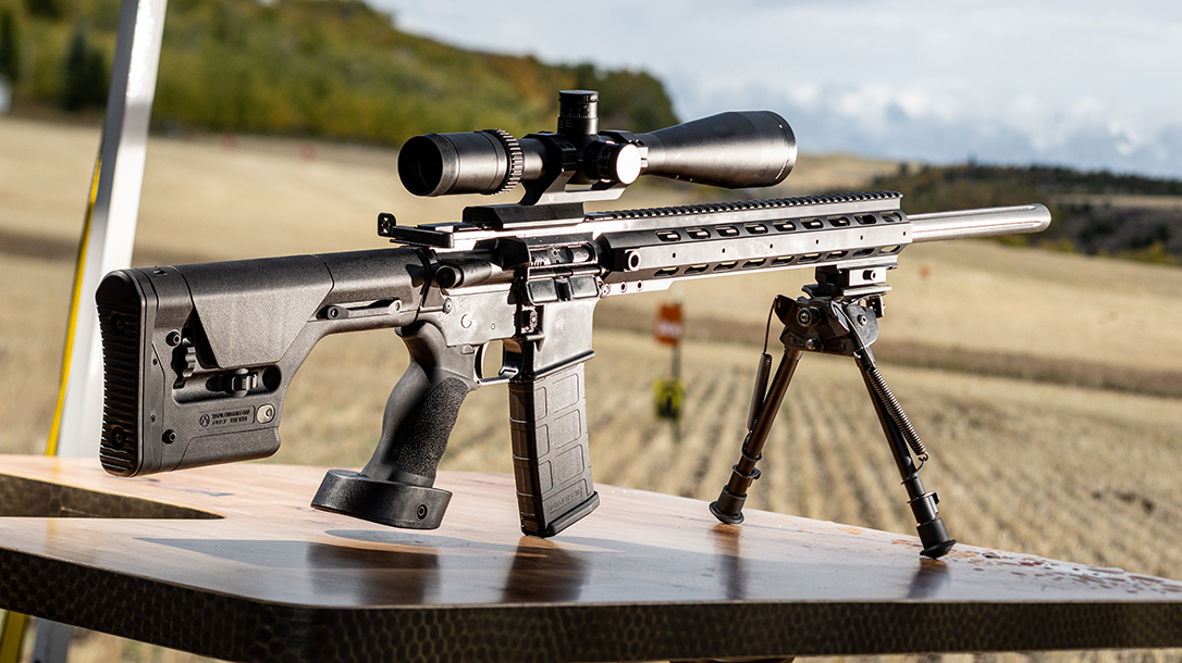 On the Range With the Optic-Ready Anderson AM15 Sniper Rifle